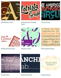 font finder banner
