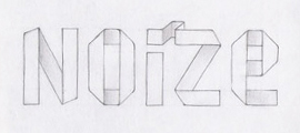 typography sketched