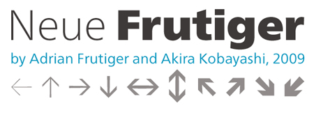 Frutiger free alternative