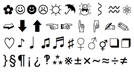 COPY PASTE CHARACTER - cikes daola