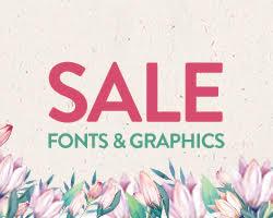 Font bundles banner