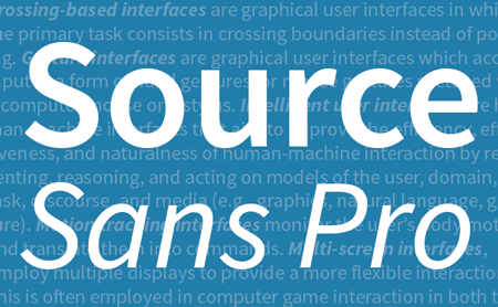 Adobe releases an open source font family