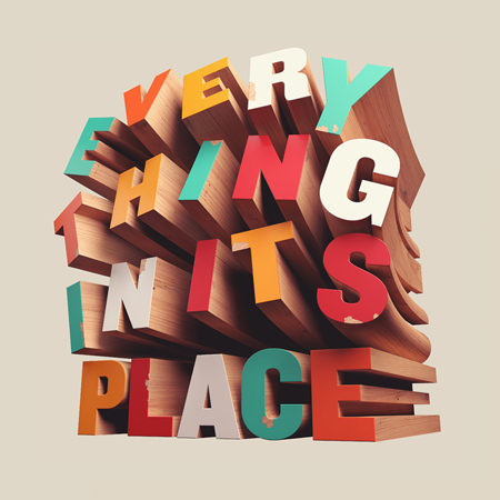 Typographic work by David McLeod