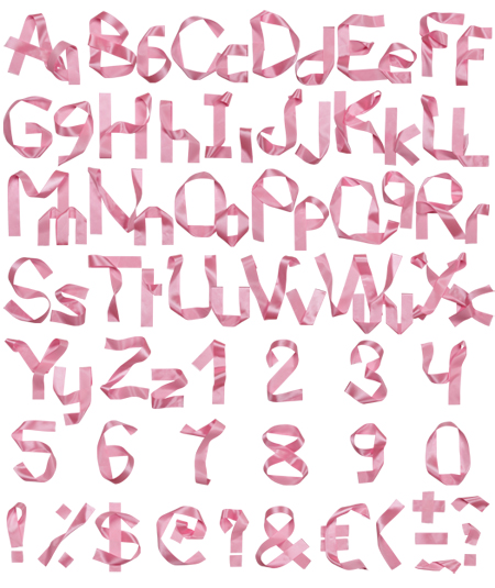 ribbon-font-alphabet