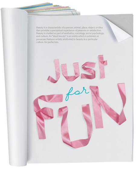 ribbon-font-poster