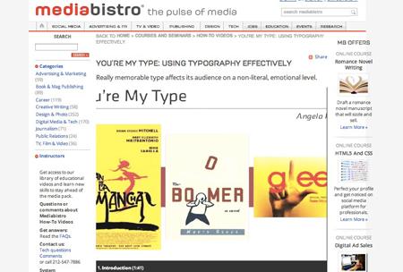 mediabistro-typography