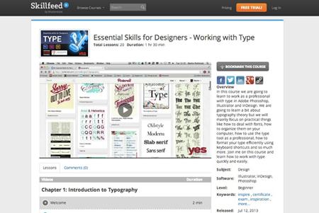 skillfeed-typography