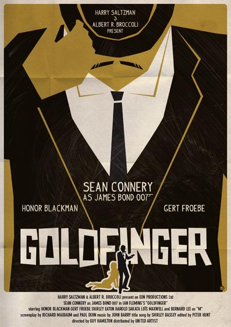 James Bond Fan Art Poster