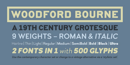 Fonts of the week