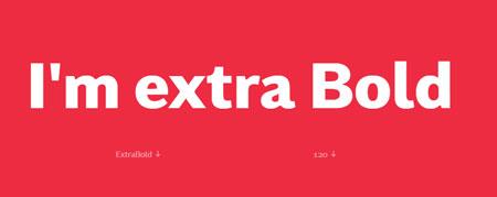extra-bold