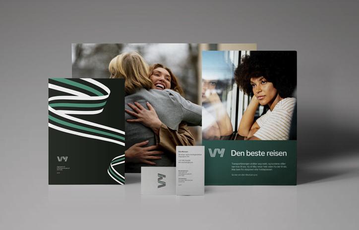 Norwegian State Railways get a Stunning Rebrand